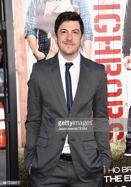 """Actor Christopher Mintz-Plasse attends Universal Pictures' """"Neighbors"""" premiere at Regency Village Theatre on April 28, 2014 in Westwood, California."""