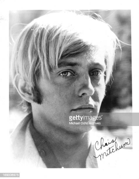 Actor Christopher Mitchum poses for a portrait in circa 1970