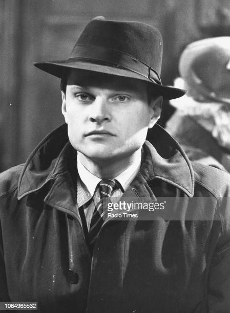 Actor Christopher Neame in a scene from the television series 'Secret Army' 1977