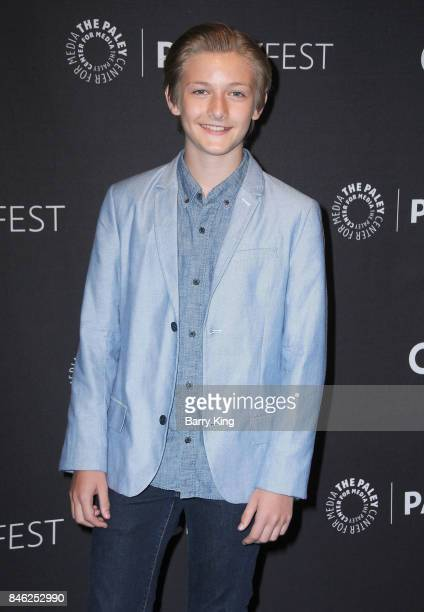 Actor Christopher Paul Richards attends The Paley Center For Media's 11th Annual PaleyFest Fall TV Previews Los Angeles at The Paley Center for Media...