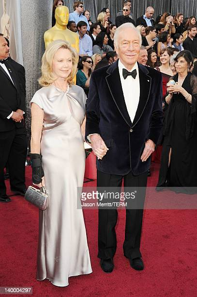 Actor Christopher Plummer and actress Elaine Taylor arrive at the 84th Annual Academy Awards held at the Hollywood Highland Center on February 26...