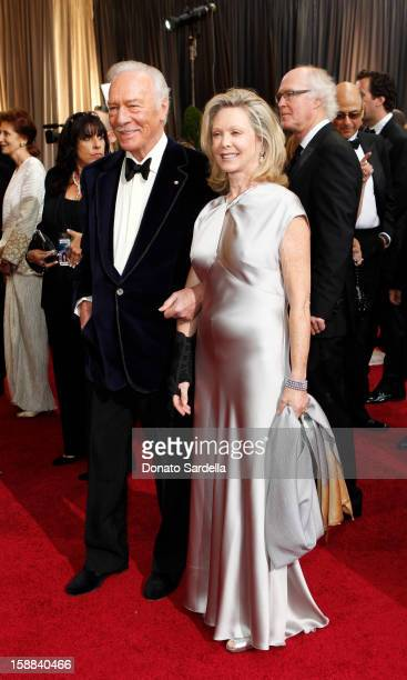 Actor Christopher Plummer and Elaine Taylor arrive at the 84th Annual Academy Awards held at Hollywood Highland Centre on February 26 2012 in...