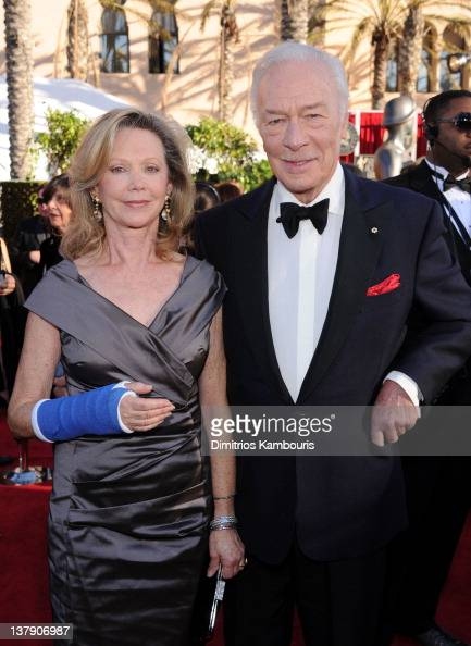 Actor Christopher Plummer and his wife Elaine Taylor ...