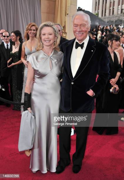 Actor Christopher Plummer and wife Elaine Taylor arrive at the 84th Annual Academy Awards held at the Hollywood Highland Center on February 26 2012...
