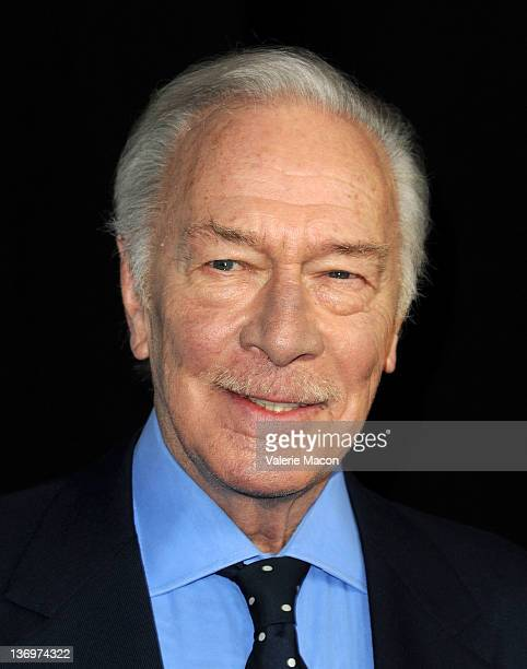Actor Christopher Plummer arrives at the 37th Annual Los Angeles Film Critics Association Awards at InterContinental Hotel on January 13 2012 in...