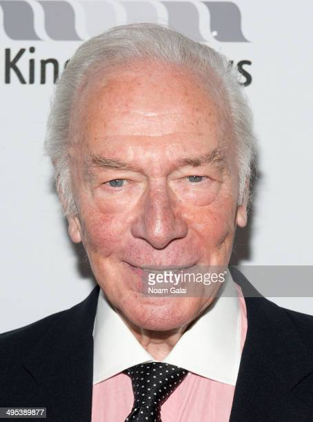 Actor Christopher Plummer attends the 2014 Theatre World Awards ceremony at Circle in the Square on June 2 2014 in New York City