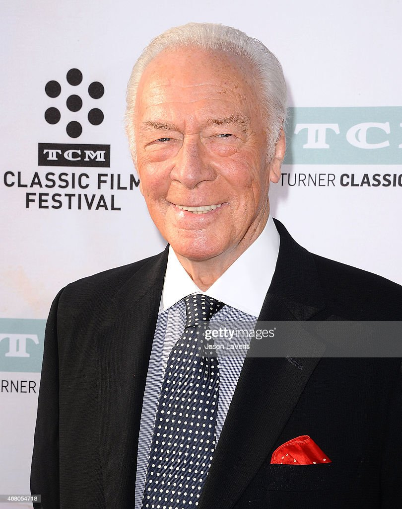 Actor Christopher Plummer attends the 2015 TCM Classic Film Festival opening night gala and the 50th anniversary of 'The Sound Of Music' at TCL Chinese Theatre IMAX on March 26, 2015 in Hollywood, California.