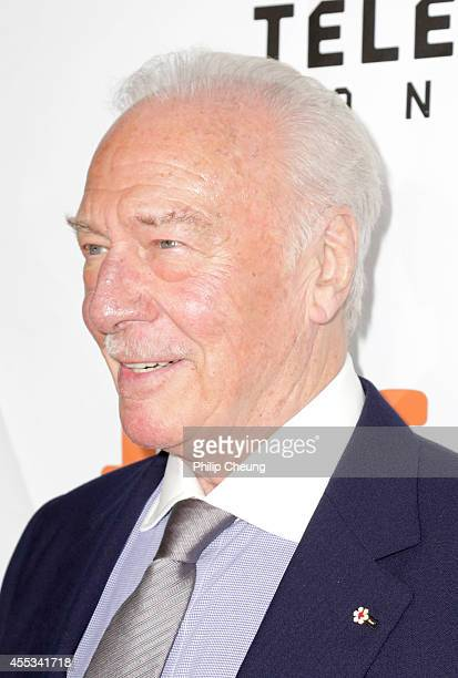 Actor Christopher Plummer attends 'The Forger' premiere during the 2014 Toronto International Film Festival at Roy Thomson Hall on September 12 2014...