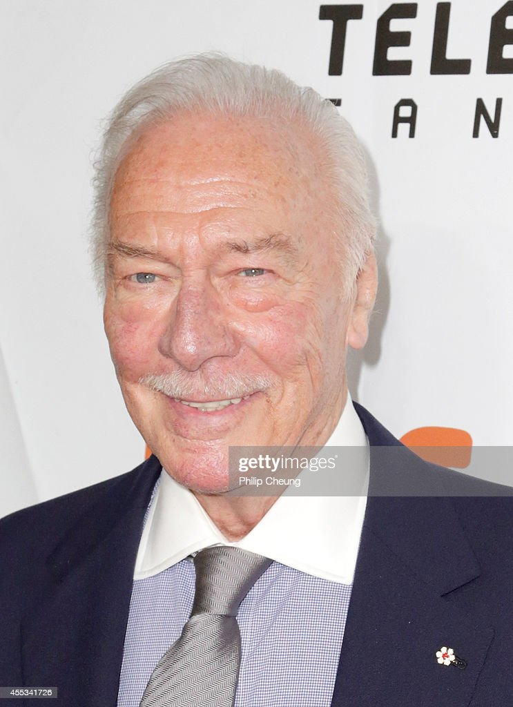 Actor Christopher Plummer attends 'The Forger' premiere during the 2014 Toronto International Film Festival at Roy Thomson Hall on September 12, 2014 in Toronto, Canada.