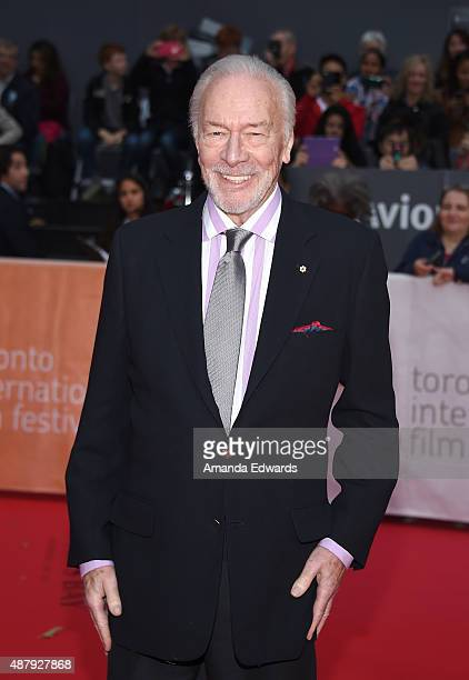 Actor Christopher Plummer attends the 'Remember' premiere during the 2015 Toronto International Film Festival at Roy Thomson Hall on September 12...