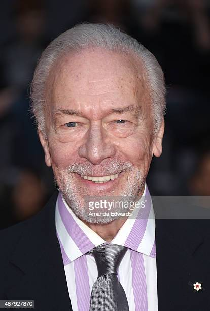 Actor Christopher Plummer attends the Remember premiere during the 2015 Toronto International Film Festival at Roy Thomson Hall on September 12 2015...