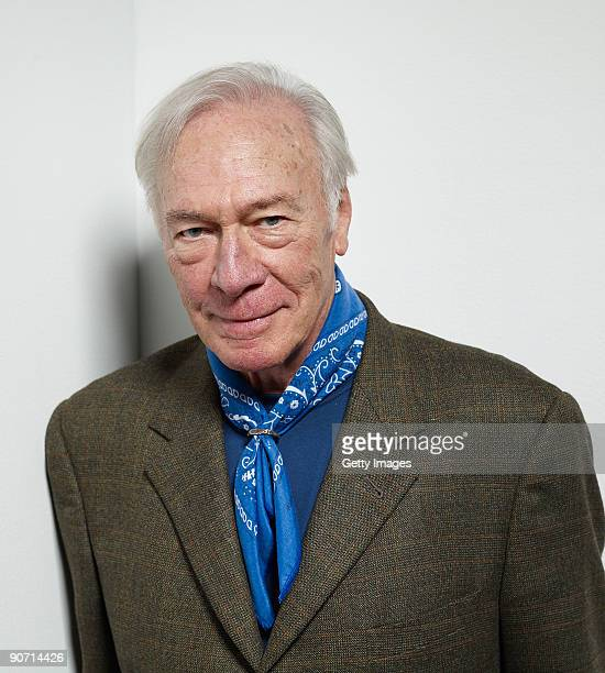 Actor Christopher Plummer from the film 'My Dog Tulip' poses for a portrait during the 2009 Toronto International Film Festival at The Sutton Place...