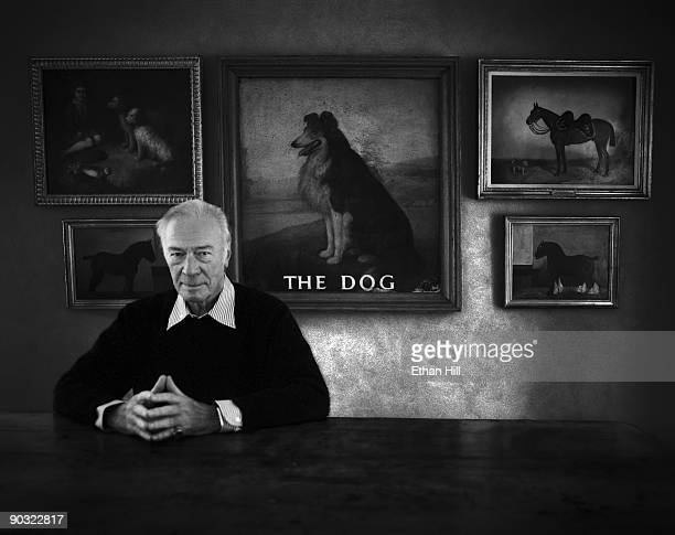 Actor Christopher Plummer is photographed for Entertainment Weekly