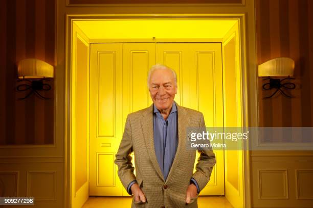 Actor Christopher Plummer is photographed for Los Angeles Times on December 16 2017 in Beverly Hills California PUBLISHED IMAGE CREDIT MUST READ...