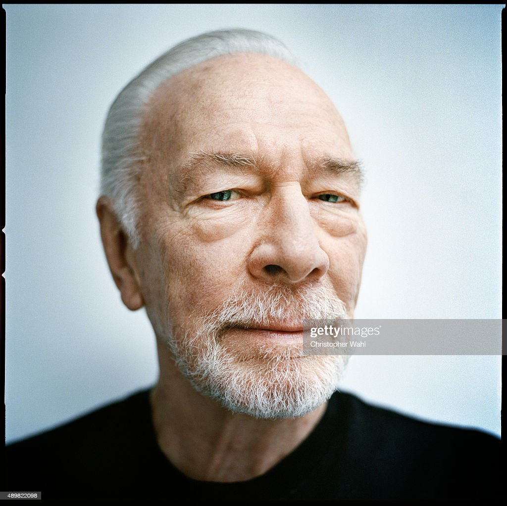 Actor Christopher Plummer is photographed for The Globe and Mail on September 15, 2015 in Toronto, Ontario.