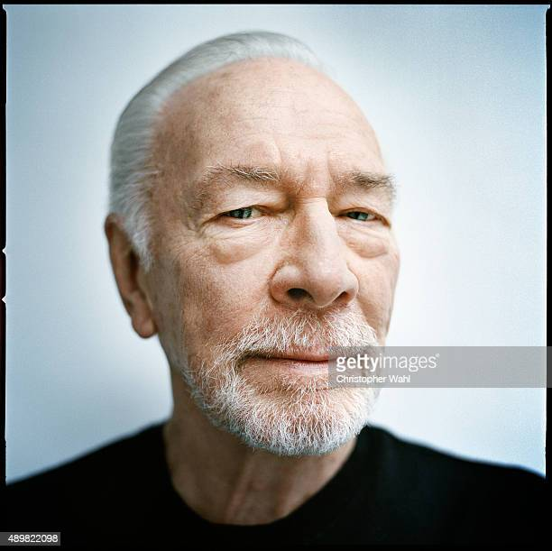 Actor Christopher Plummer is photographed for The Globe and Mail on September 15 2015 in Toronto Ontario