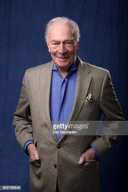 Actor Christopher Plummer is photographed for USA Today on December 16 2017 in Los Angeles California PUBLISHED IMAGE