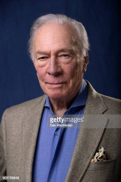 Actor Christopher Plummer is photographed for USA Today on December 16 2017 in Los Angeles California