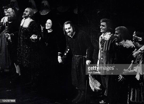 Actor Christopher Plummer performing at the opening of 'Cyrano' on May 13 1973 at the Palace Theater in New York City