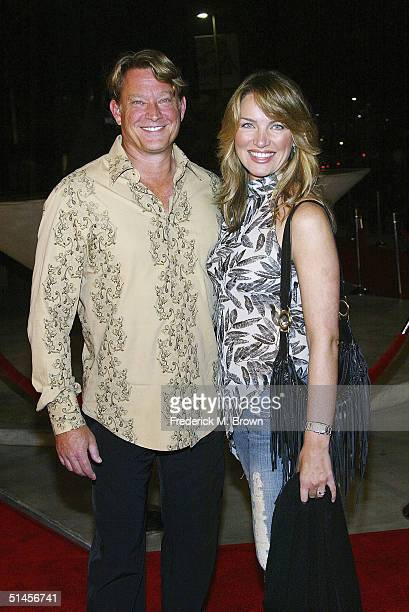 Actor Christopher Rich and his wife Ava attend the Genius A Night For Ray Charles taping at the Staples Center on October 8 2004 in Los Angeles...
