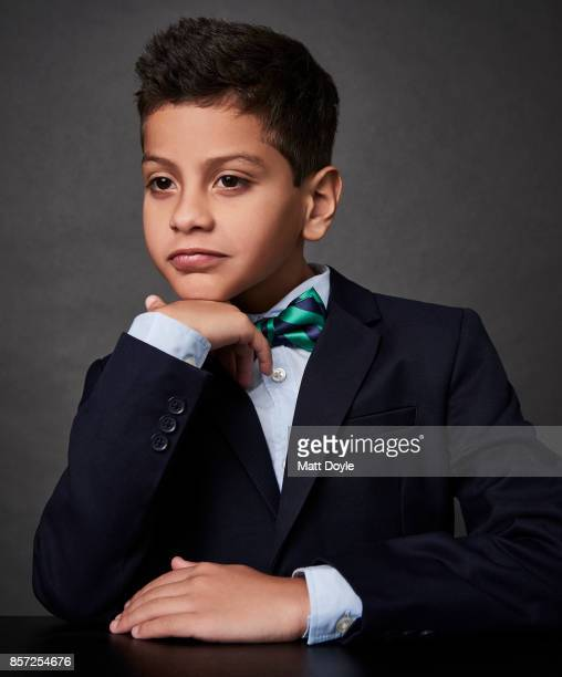 Actor Christopher Rivera from the film 'The Florida Project' poses for a portrait at the 55th New York Film Festival on October 1 2017