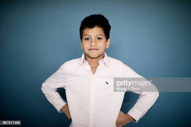 Actor Christopher Rivera of The Florida Project is photographed for Los Angeles Times on November 3 2017 in Los Angeles California PUBLISHED IMAGE...