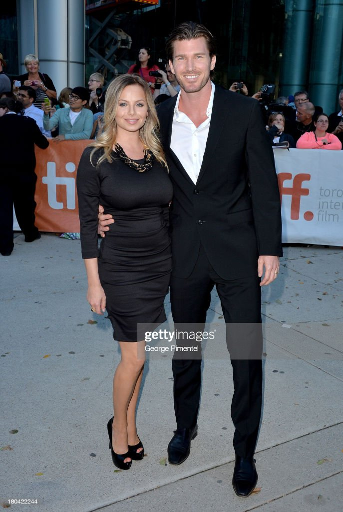 """The Right Kind Of Wrong"" Premiere - Red Carpet - 2013 Toronto International Film Festival : News Photo"