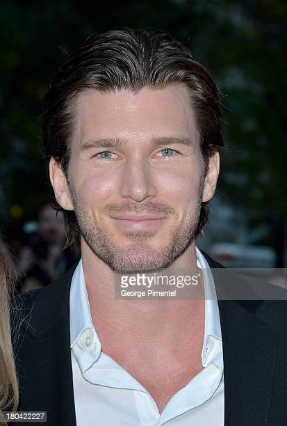 Actor Christopher Russell attends The Right Kind Of Wrong premiere during the 2013 Toronto International Film Festival at Roy Thomson Hall on...