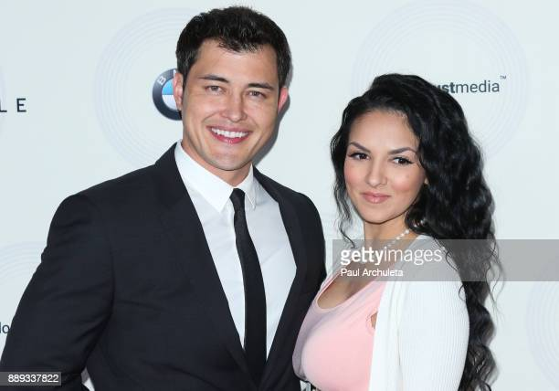 Actor Christopher Sean and his Wife Laneya Arvizu attend the 16th annual Unforgettable Gala at The Beverly Hilton Hotel on December 9 2017 in Beverly...