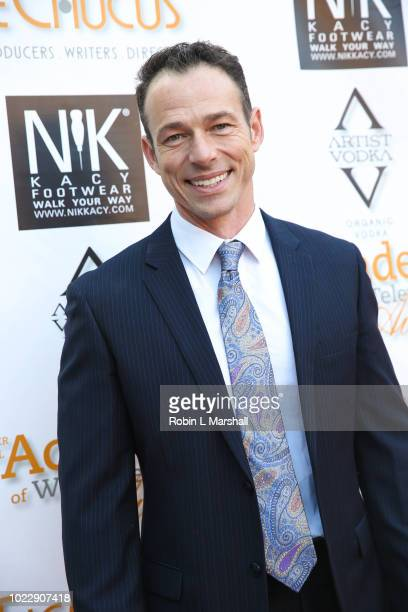 Actor Christopher Showerman attends the 6th International Academy of Web Television Awards at Skirball Cultural Center on August 24 2018 in Los...