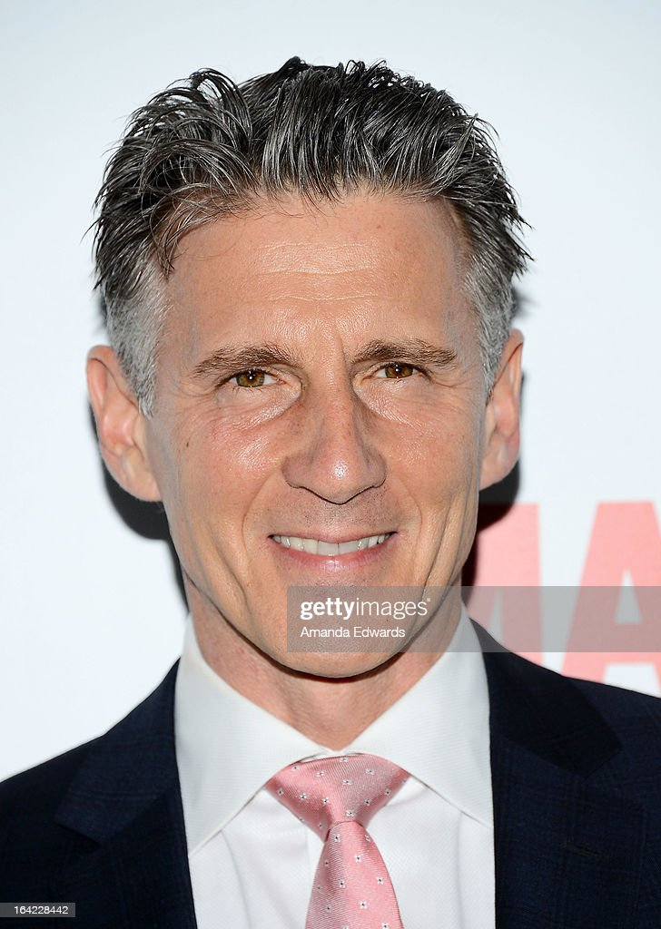 Actor Christopher Stanley arrives at AMC's 'Mad Men' Season 6 Premiere at the DGA Theater on March 20, 2013 in Los Angeles, California.