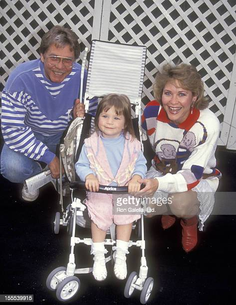 Actor Christopher Stone wife actress Dee Wallace and their daughter Gabrielle Stone attend the Grand Opening of the New Universal Studios Theme Park...