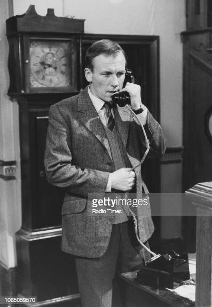 Actor Christopher Timothy in a scene from the television series 'All Creatures Great and Small' June 13th 1988