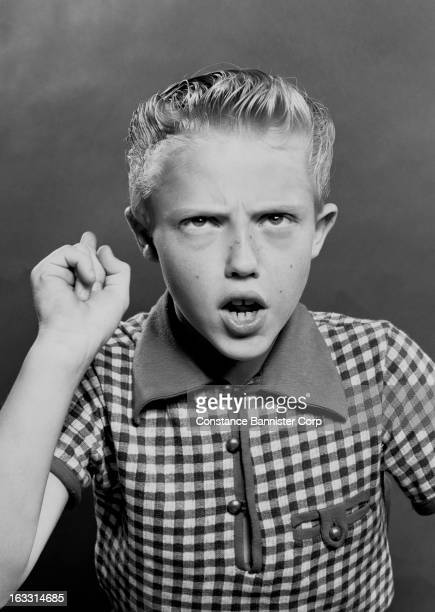 Actor Christopher Walken at 10 years old New York City USA