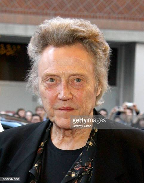 Actor Christopher Walken attends The Family Fang premiere during the 2015 Toronto International Film Festival at the Winter Garden Theatre on...