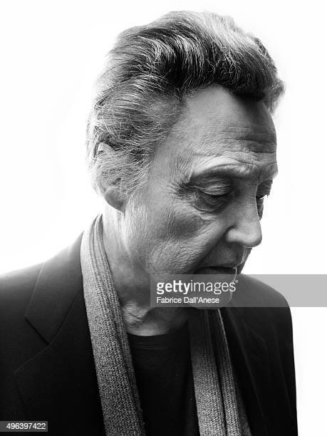 Actor Christopher Walken is photographed for Vanity Faircom on April 15 2015 in New York