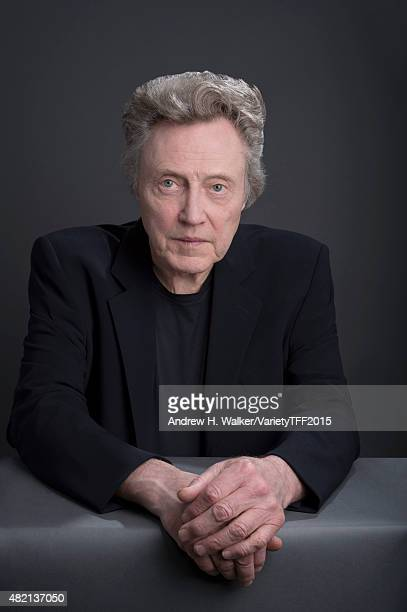Actor Christopher Walken is photographed for Variety at the Tribeca Film Festival on April 18 2015 in New York City CREDIT MUST READ Andrew H...