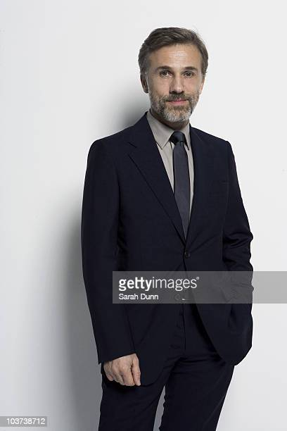 Actor Christopher Waltz poses for a portrait shoot in London on March 28 2010
