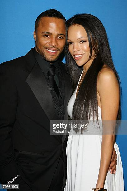 Actor Christopher Warren and actress/wife Brook Kerr arrive at the Chevrolet NAACP Image Awards official after party held at The Beverly Hilton hotel...