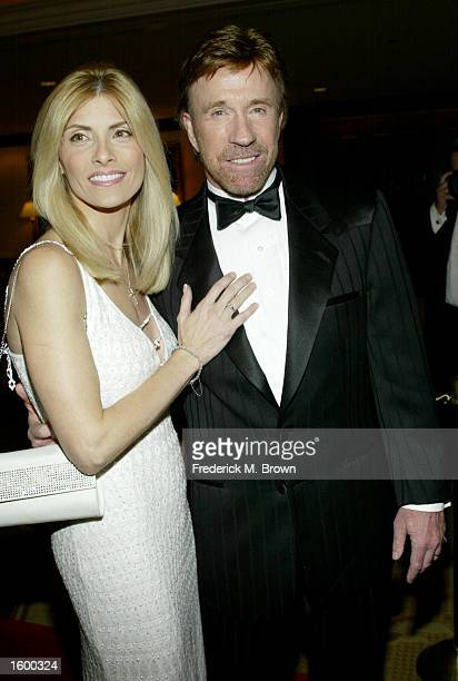 Actor Chuck Norris and his wife Gena attend the Los Angeles Police Department Protective League's Eagle Badge Foundation and the Tichi Wilkerson...