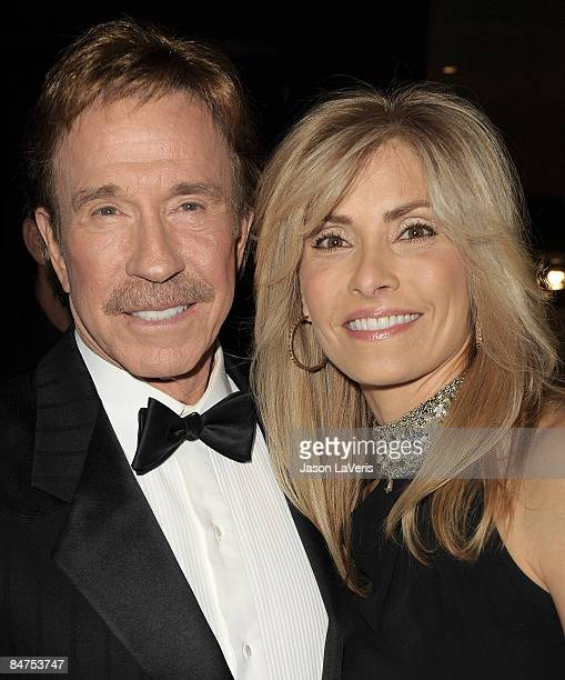 Chuck Norris And Wife Stock Photos and Pictures | Getty Images