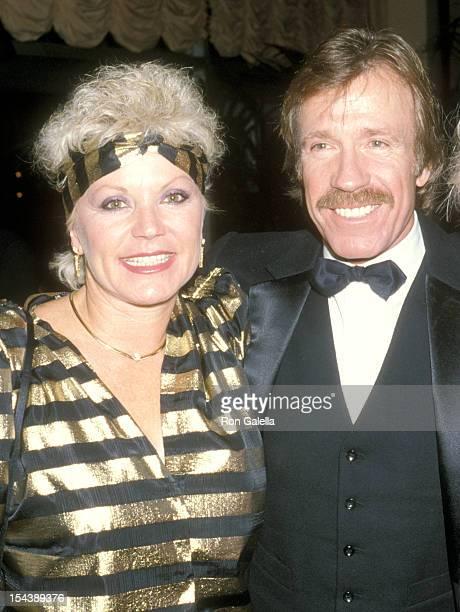 Actor Chuck Norris and wife Diane Holechek attend the Friends of Tel Hashomer's 16th Annual Sheba Humanitarian Award Dinner Honoring Menahem Golan...