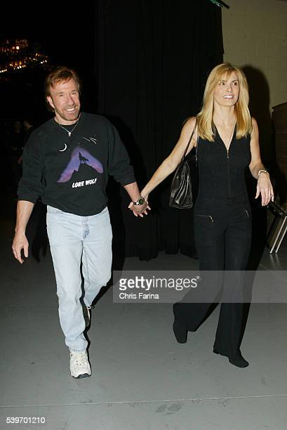 Actor Chuck Norris and wife Gena O Kelley attend UFC 46Revenge or Repeat/Ultimate Fighting Championship at the Mandalay Bay Hotel