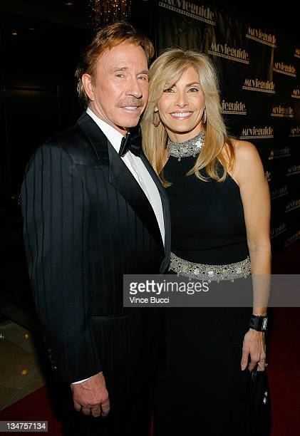 Chuck Norris with charming, Wife Gena O