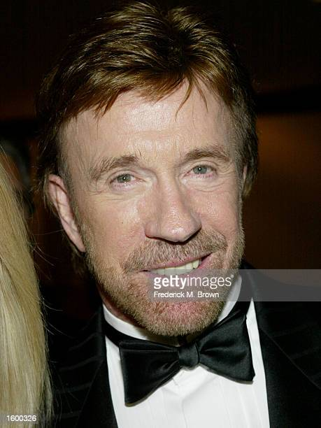 Actor Chuck Norris attends the Los Angeles Police Department Protective League's Eagle Badge Foundation and the Tichi Wilkerson Kassel Parkinson's...
