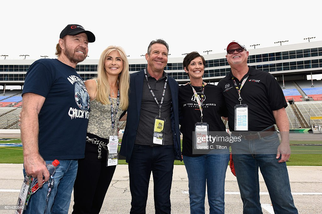 NASCAR Sprint Cup Series AAA Texas 500 : News Photo