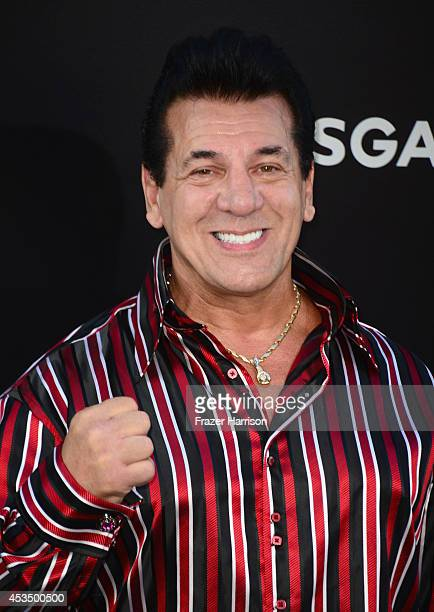Actor Chuck Zito attends Lionsgate Films' The Expendables 3 premiere at TCL Chinese Theatre on August 11 2014 in Hollywood California