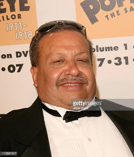 Actor Chuy Bravo at The Popeye Volume One DVD Release at The Paley Center for Media on July 31, 2007 in Beverly Hills, California.