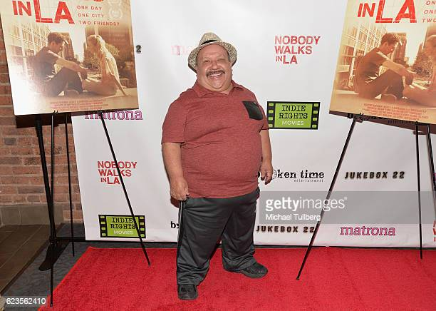 "Actor Chuy Bravo attends the Los Angeles premiere of ""Nobody Walks In LA"" at Laemmle Royal Theater on November 15, 2016 in Los Angeles, California."