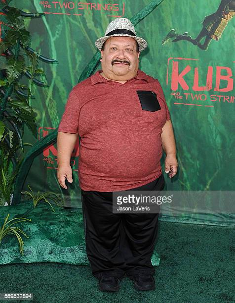 "Actor Chuy Bravo attends the premiere of ""Kubo and the Two Strings"" at AMC Universal City Walk on August 14, 2016 in Universal City, California."